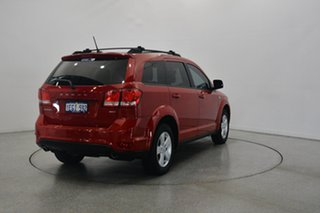 2012 Dodge Journey JC MY12 SXT Red 6 Speed Automatic Wagon.