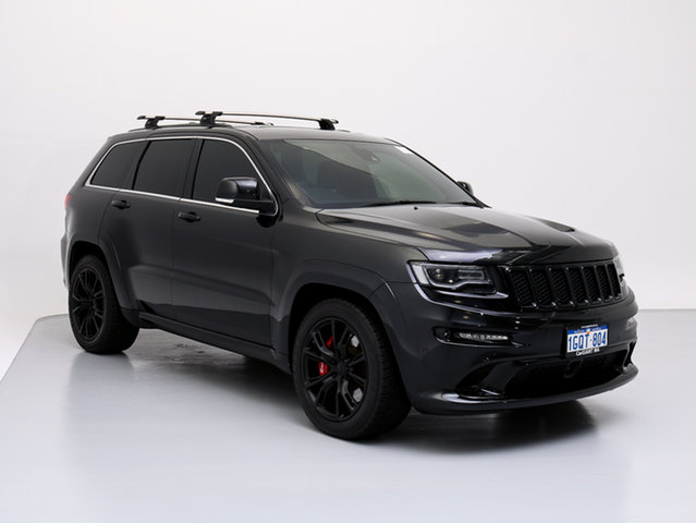Used Jeep Grand Cherokee WK MY14 SRT 8 (4x4), 2014 Jeep Grand Cherokee WK MY14 SRT 8 (4x4) Black 8 Speed Automatic Wagon