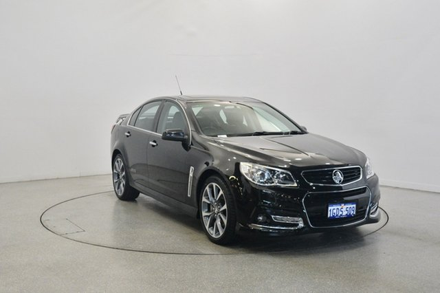 Used Holden Commodore VF MY14 SS V, 2013 Holden Commodore VF MY14 SS V Black 6 Speed Sports Automatic Sedan