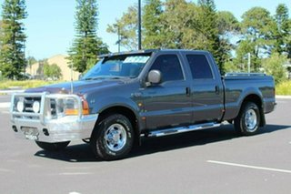 2002 Ford F250 RM XLT Grey 4 Speed Automatic Crew Cab Pickup