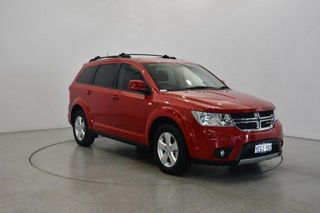 Used Dodge Journey JC MY12 SXT, 2012 Dodge Journey JC MY12 SXT Red 6 Speed Automatic Wagon