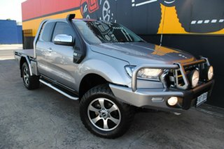 2015 Ford Ranger PX MkII XLT Super Cab Aluminium 6 Speed Manual Utility.