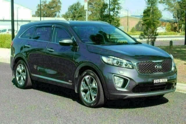 Used Kia Sorento UM MY16 Platinum AWD, 2015 Kia Sorento UM MY16 Platinum AWD Platinum Graphite Sports Automatic Wagon