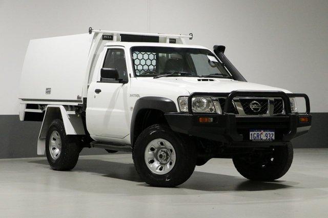 Used Nissan Patrol MY11 Upgrade ST (4x4), 2011 Nissan Patrol MY11 Upgrade ST (4x4) White 5 Speed Manual Coil Cab Chassis