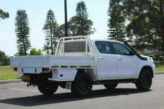 2017 Toyota Hilux GUN126R SR Double Cab White Sports Automatic CAB CHASSIS - DUAL CAB.