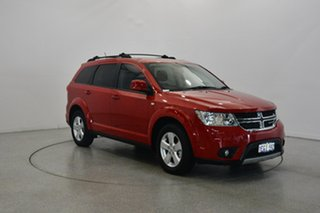 2012 Dodge Journey JC MY12 SXT Red 6 Speed Automatic Wagon