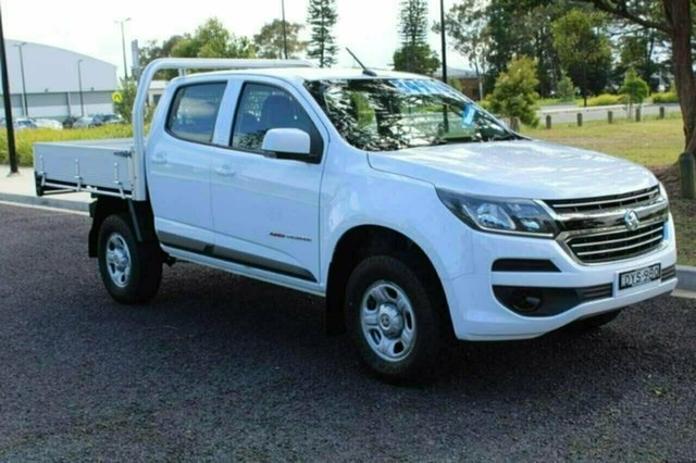 Used Holden Colorado RG MY17 LS Crew Cab, 2016 Holden Colorado RG MY17 LS Crew Cab White Manual CAB CHASSIS - DUAL CAB