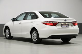2017 Toyota Camry AVV50R MY16 Altise Hybrid White Continuous Variable Sedan