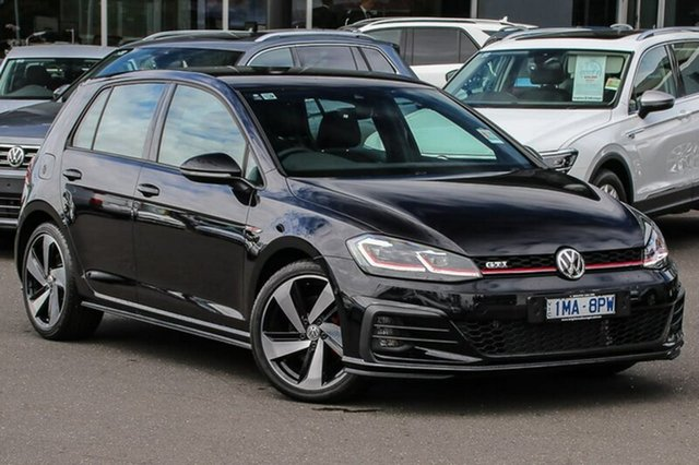 Used Volkswagen Golf 7.5 MY18 GTI DSG, 2018 Volkswagen Golf 7.5 MY18 GTI DSG Black 6 Speed Sports Automatic Dual Clutch Hatchback