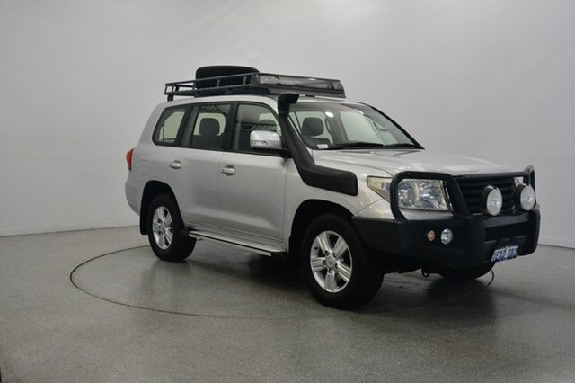 Used Toyota Landcruiser VDJ200R MY12 Altitude, 2012 Toyota Landcruiser VDJ200R MY12 Altitude Silver 6 Speed Sports Automatic Wagon
