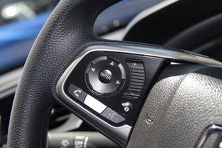 2018 Honda Civic 10th Gen MY18 VTi White Orchid 1 Speed Constant Variable Sedan