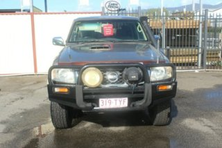 2005 Nissan Patrol GU IV MY05 ST Gold 5 Speed Manual Wagon.