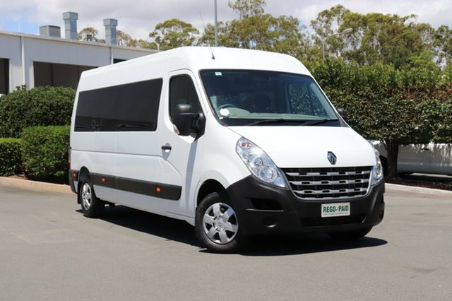 Used Renault Master X62 Mid Roof LWB AMT, 2014 Renault Master X62 Mid Roof LWB AMT White 6 Speed Sports Automatic Single Clutch Van