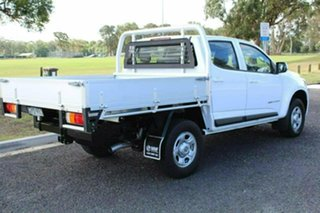 2016 Holden Colorado RG MY17 LS Crew Cab White Manual CAB CHASSIS - DUAL CAB