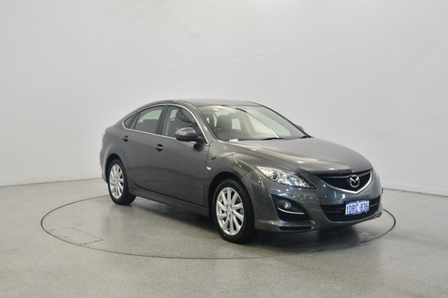 Used Mazda 6 GH1052 MY10 Classic, 2011 Mazda 6 GH1052 MY10 Classic Grey 5 Speed Sports Automatic Hatchback