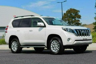 2016 Toyota Landcruiser Prado GDJ150R MY16 VX (4x4) White 6 Speed Automatic Wagon.