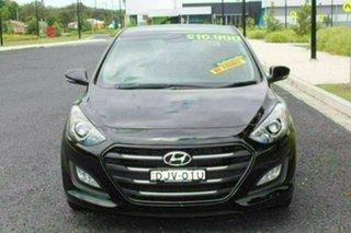 2016 Hyundai i30 GD4 Series 2 Update Active X Black 6 Speed Automatic Hatchback