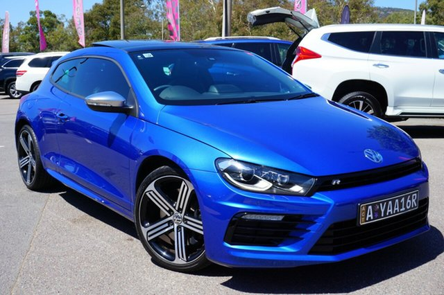 Used Volkswagen Scirocco 1S MY15 R Coupe DSG, 2014 Volkswagen Scirocco 1S MY15 R Coupe DSG Blue 6 Speed Sports Automatic Dual Clutch Hatchback