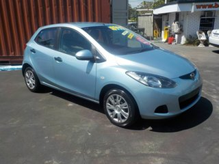 2009 Mazda 2 DE Neo Silver 4 Speed Automatic Hatchback.