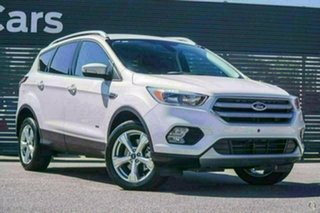 2018 Ford Escape ZG 2018.75MY Trend AWD White Platinum Sports Automatic Wagon.