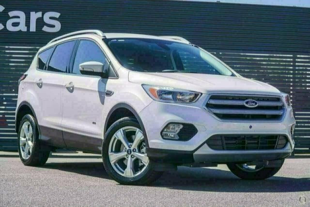 Used Ford Escape ZG 2018.75MY Trend AWD, 2018 Ford Escape ZG 2018.75MY Trend AWD White Platinum Sports Automatic Wagon