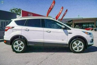 2018 Ford Escape ZG 2018.75MY Trend AWD White Platinum Sports Automatic Wagon