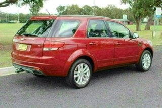 2014 Ford Territory SZ MkII TS Seq Sport Shift Red Sports Automatic Wagon.