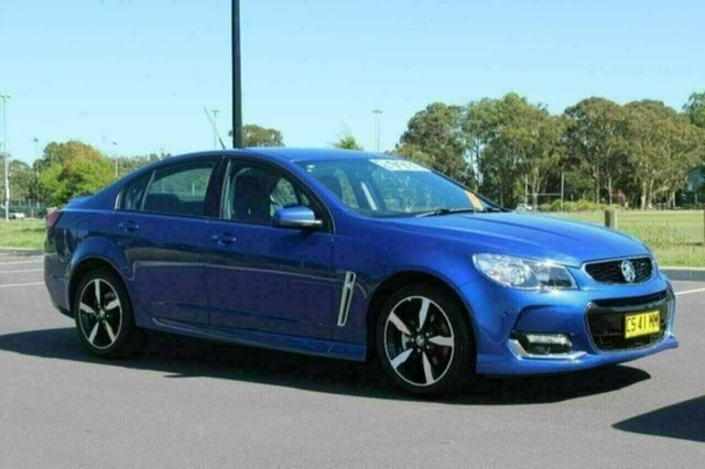 Used Holden Commodore VF II MY17 SV6, 2017 Holden Commodore VF II MY17 SV6 Slipstream Blue 6 Speed Automatic Sedan