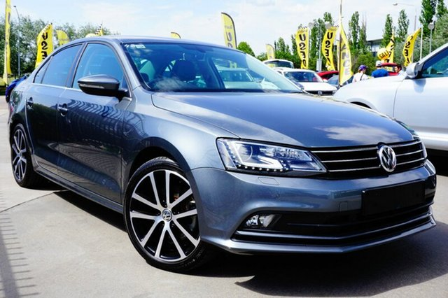 Used Volkswagen Jetta 1B MY17 155TSI DSG Highline Sport, 2017 Volkswagen Jetta 1B MY17 155TSI DSG Highline Sport Grey 6 Speed Sports Automatic Dual Clutch