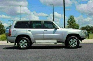 2014 Nissan Patrol GU Series 9 ST (4x4) Silver 5 Speed Manual Wagon.