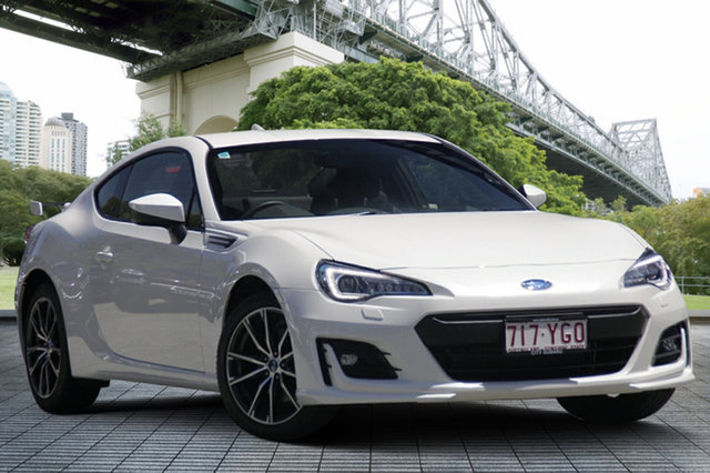 Demo Subaru BRZ Z1 MY18 , 2018 Subaru BRZ Z1 MY18 White Crystal 6 Speed Manual Coupe