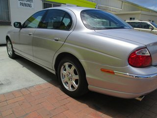 2001 Jaguar S-Type X200 MY2001 SE Silver 5 Speed Automatic Sedan