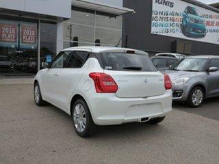 2018 Suzuki Swift AL GL Navigator Pure White Continuous Variable Hatchback.