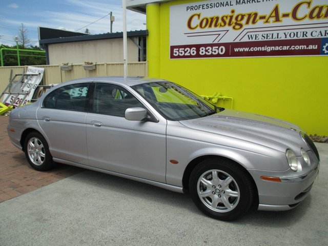 Used Jaguar S-Type X200 MY2001 SE, 2001 Jaguar S-Type X200 MY2001 SE Silver 5 Speed Automatic Sedan