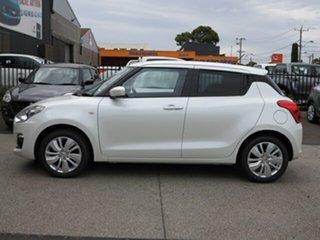 2018 Suzuki Swift AL GL Navigator Pure White Continuous Variable Hatchback