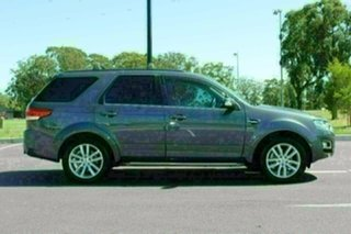 2015 Ford Territory SZ MK2 TS (4x4) Smoke 6 Speed Automatic Wagon.