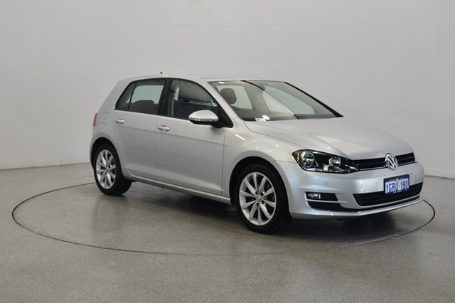 Used Volkswagen Golf VII MY14 103TSI DSG Highline, 2014 Volkswagen Golf VII MY14 103TSI DSG Highline Silver 7 Speed Sports Automatic Dual Clutch