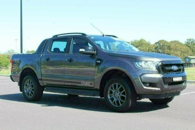 Used Ford Ranger PX MkII XLT Double Cab, 2017 Ford Ranger PX MkII XLT Double Cab Magnetic Sports Automatic Dual Cab Utility