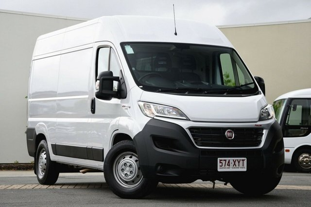 Used Fiat Ducato Series 6 Mid Roof MWB Comfort-matic, 2017 Fiat Ducato Series 6 Mid Roof MWB Comfort-matic White 6 Speed Sports Automatic Single Clutch