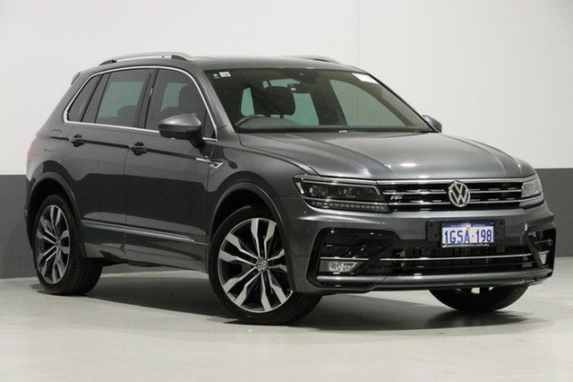 Used Volkswagen Tiguan 5NA MY18 162 TSI Highline, 2018 Volkswagen Tiguan 5NA MY18 162 TSI Highline Grey 7 Speed Auto Direct Shift Wagon