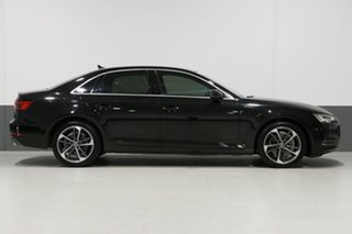 2017 Audi A4 F4 MY17 (B9) 2.0 Tfsi S Tronic Sport Mythos Black 7 Speed Auto Dual Clutch Sedan