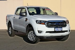 2018 Ford Ranger PX MKIII 2019.0 XLS Pick-up Double Cab Frozen White 6 Speed Sports Automatic