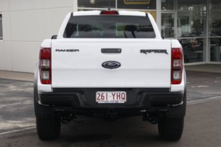 2018 Ford Ranger PX MkIII 2019.00MY Raptor Pick-up Double Cab Frozen White 10 Speed Sports Automatic