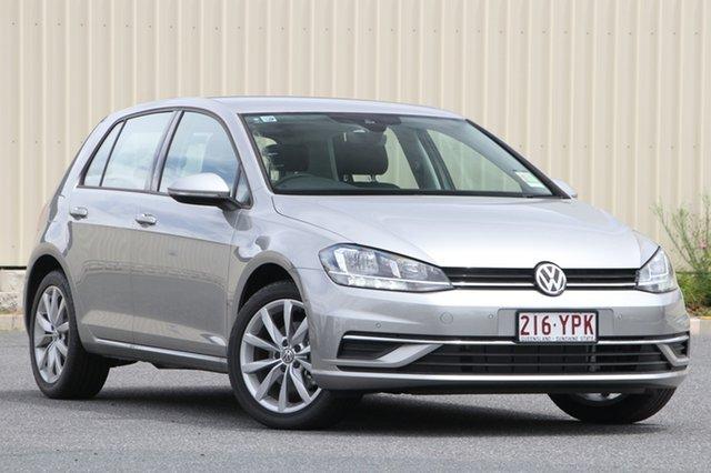 Demo Volkswagen Golf 7.5 MY18 110TSI DSG Comfortline, 2018 Volkswagen Golf 7.5 MY18 110TSI DSG Comfortline Tungsten Silver 7 Speed