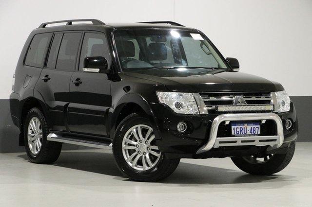 Used Mitsubishi Pajero NW MY14 VR-X LWB (4x4), 2013 Mitsubishi Pajero NW MY14 VR-X LWB (4x4) Black 5 Speed Auto Sports Mode Wagon