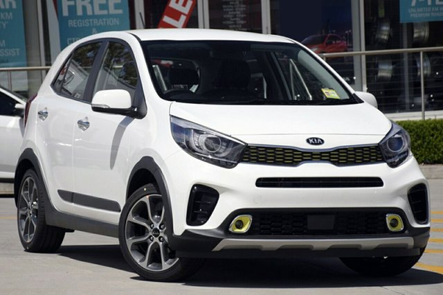 New Kia Picanto JA MY19 AO Edition, 2019 Kia Picanto JA MY19 AO Edition Clear White 4 Speed Automatic Hatchback