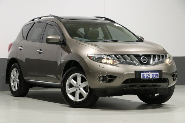 Used Nissan Murano Z51 MY10 TI, 2011 Nissan Murano Z51 MY10 TI Bronze Continuous Variable Wagon