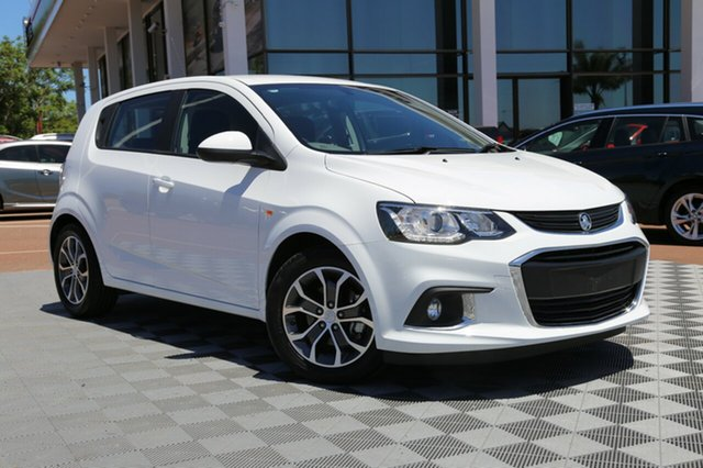 Used Holden Barina TM MY18 LS, 2017 Holden Barina TM MY18 LS White 6 Speed Automatic Hatchback