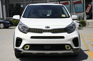2018 Kia Picanto JA MY19 AO Edition Clear White 4 Speed Automatic Hatchback