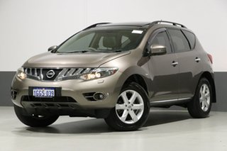 2011 Nissan Murano Z51 MY10 TI Bronze Continuous Variable Wagon.